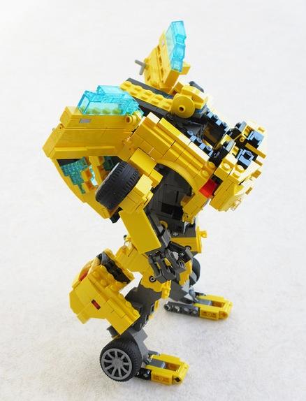 Lego Chevrolet Camaro Turns Into Transformer Bumblebee
