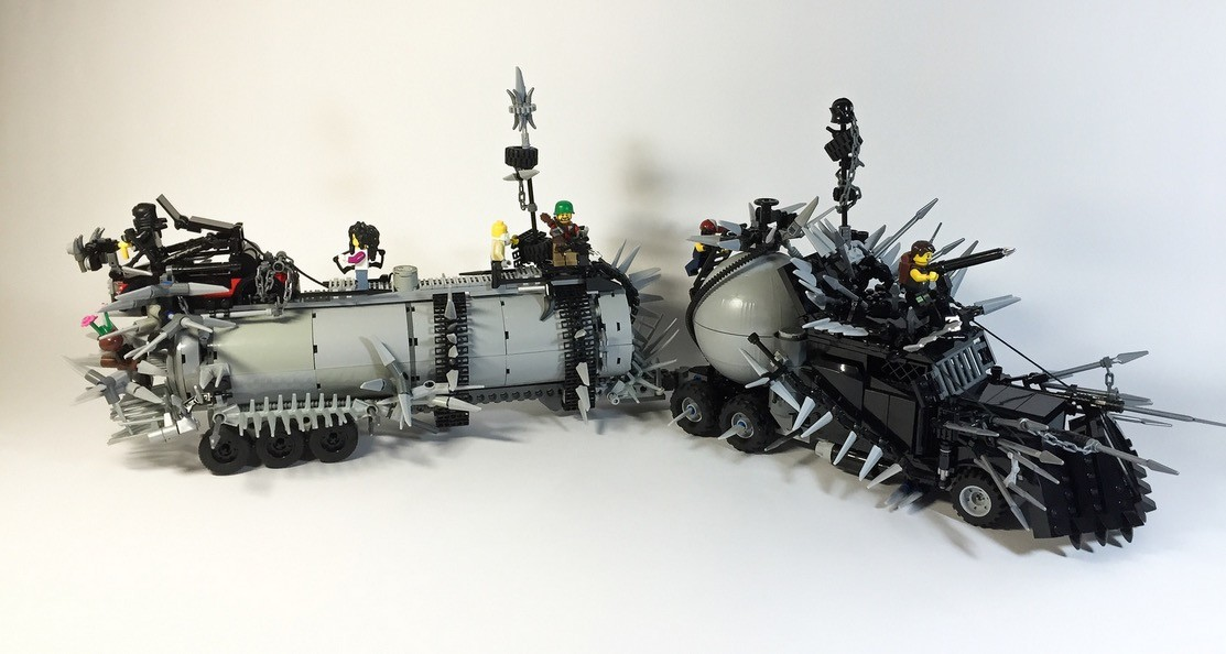 Lego Enthusiast Recreates Mad Max Fury Road Vehicles