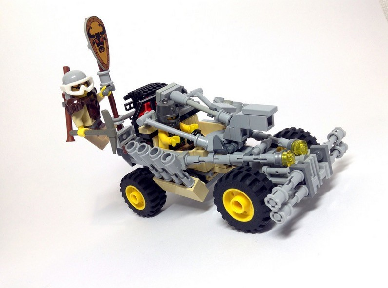 Lego Enthusiast Recreates Mad Max Fury Road Vehicles