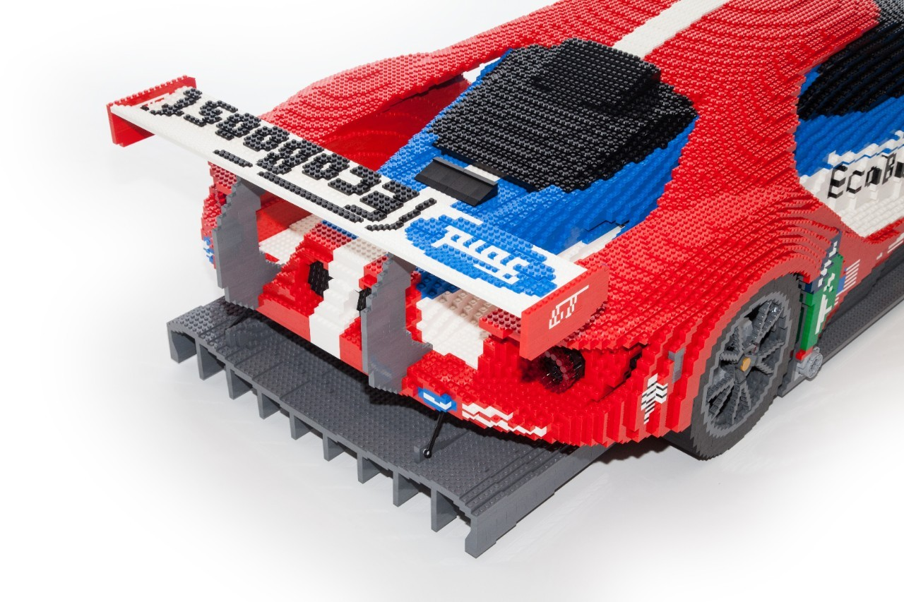 Ford will display a lego version of the 2017 gt at this for Modele maison lego classic