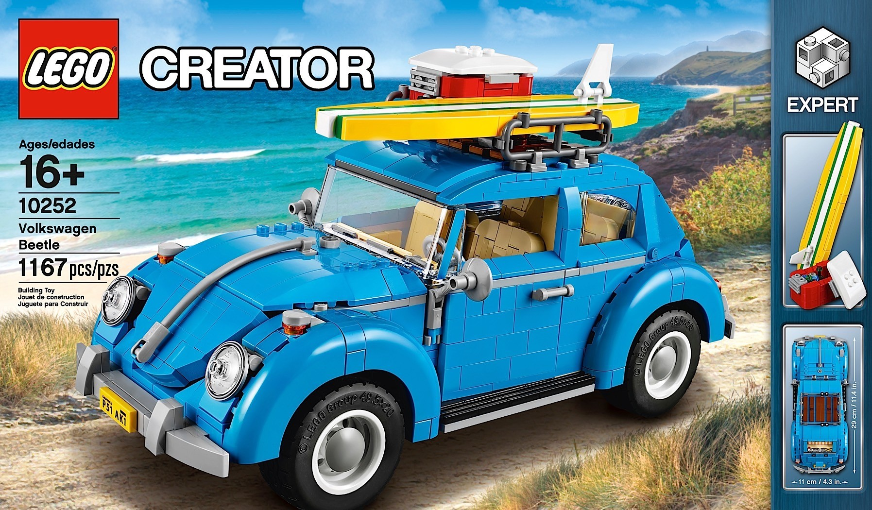 LEGO Introduces Surfer-Themed Volkswagen Beetle - autoevolution