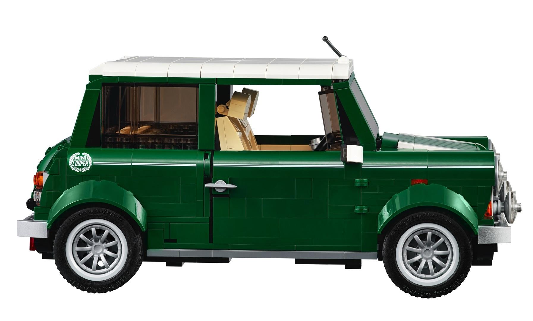 Lego Launches 100 Mini Cooper Set Autoevolution