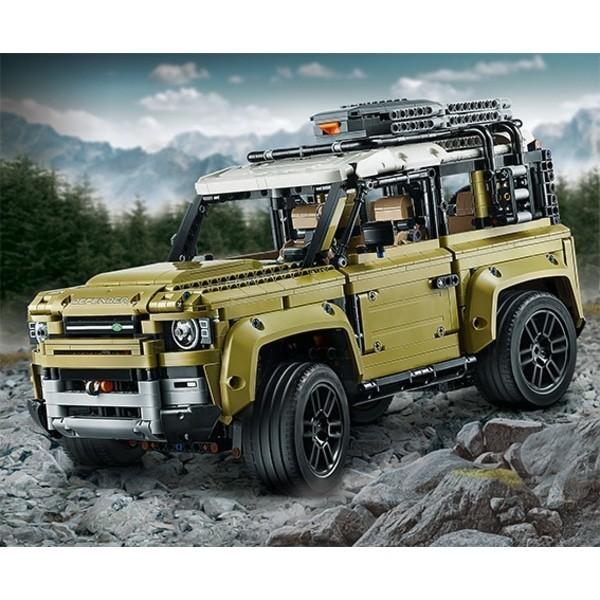 """Lego """"Leaks"""" 2020 Land Rover Defender 90"""