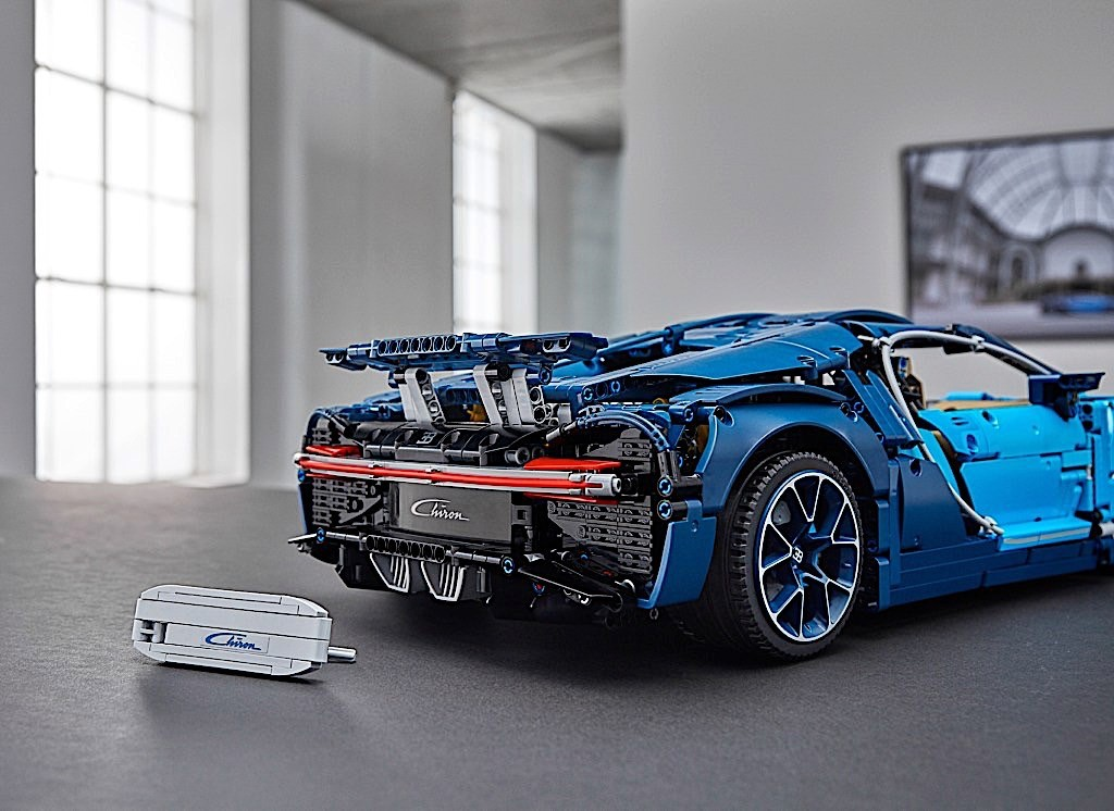 Lego Makes A Stunning Bugatti Chiron Shine Next To The Real Car