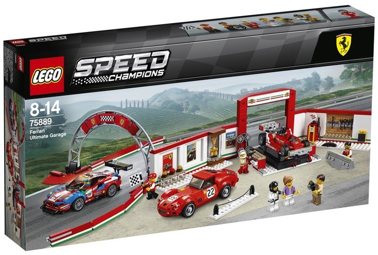 lego reveals awesome 2018 speed champions lineup autoevolution. Black Bedroom Furniture Sets. Home Design Ideas