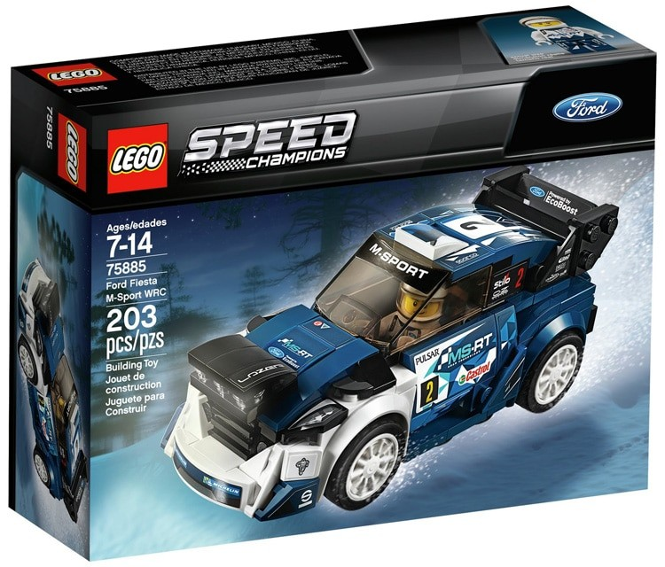 Lego Reveals Awesome 2018 Speed Champions Lineup - autoevolution