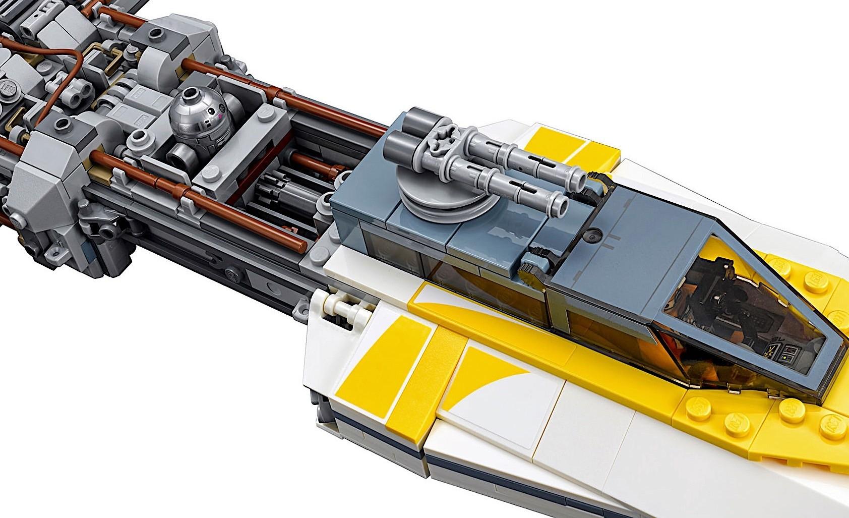 Lego Star Wars Y Wing Will Make You Forget Luke Skywalker Milked A