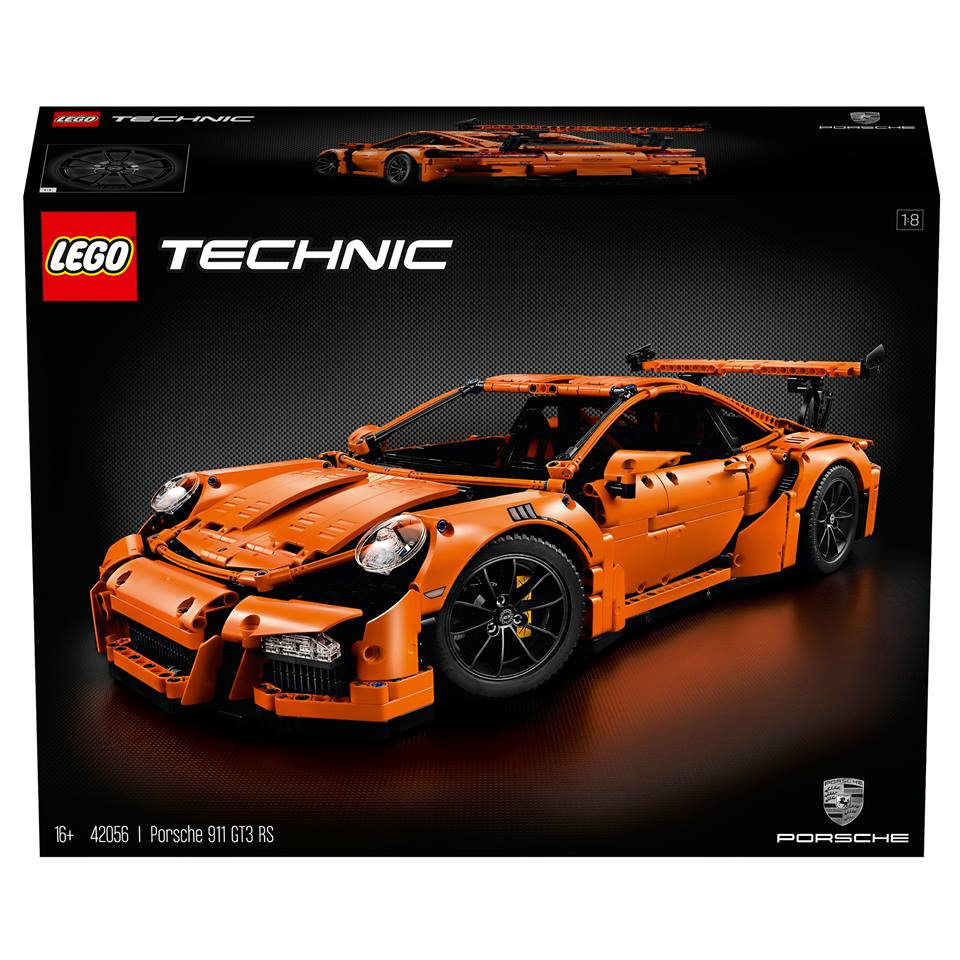 Lego Technic Porsche 911 Gt3 Rs Is A 1 8 Scale Non Lava