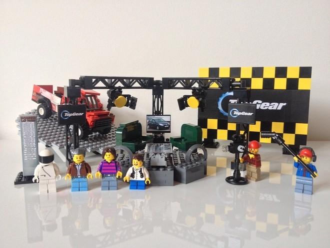 Hammond And May Build Lego