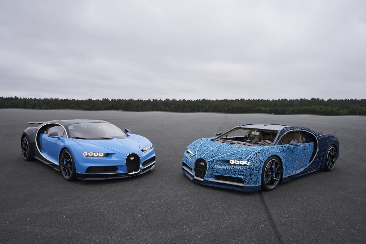 lego unveils full size driveable bugatti chiron autoevolution. Black Bedroom Furniture Sets. Home Design Ideas