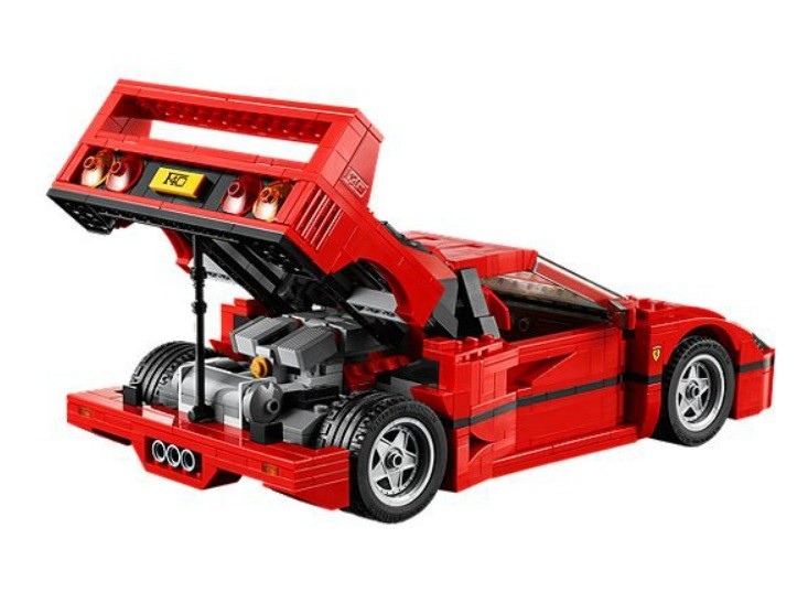lego s ferrari f40 is now available for purchase. Black Bedroom Furniture Sets. Home Design Ideas