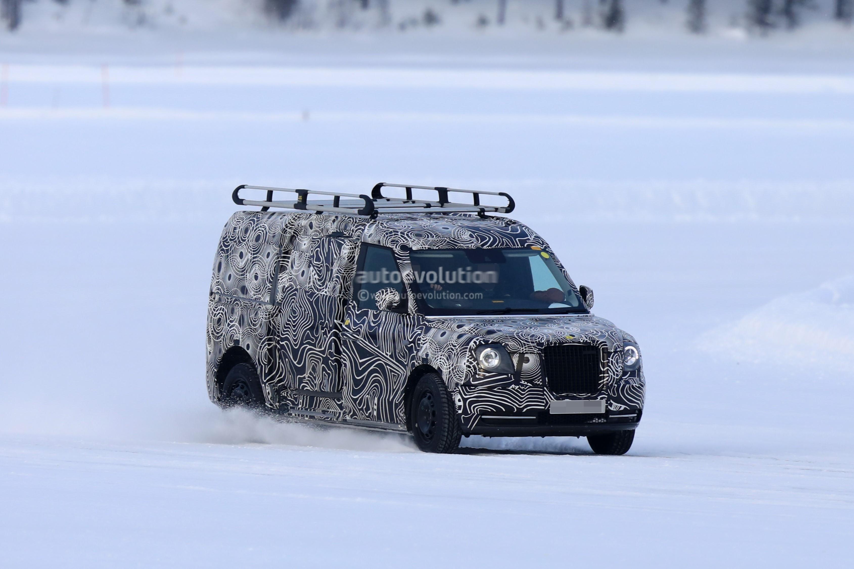 2019 LEVC Light Commercial Vehicle Looks Boxy - autoevolution