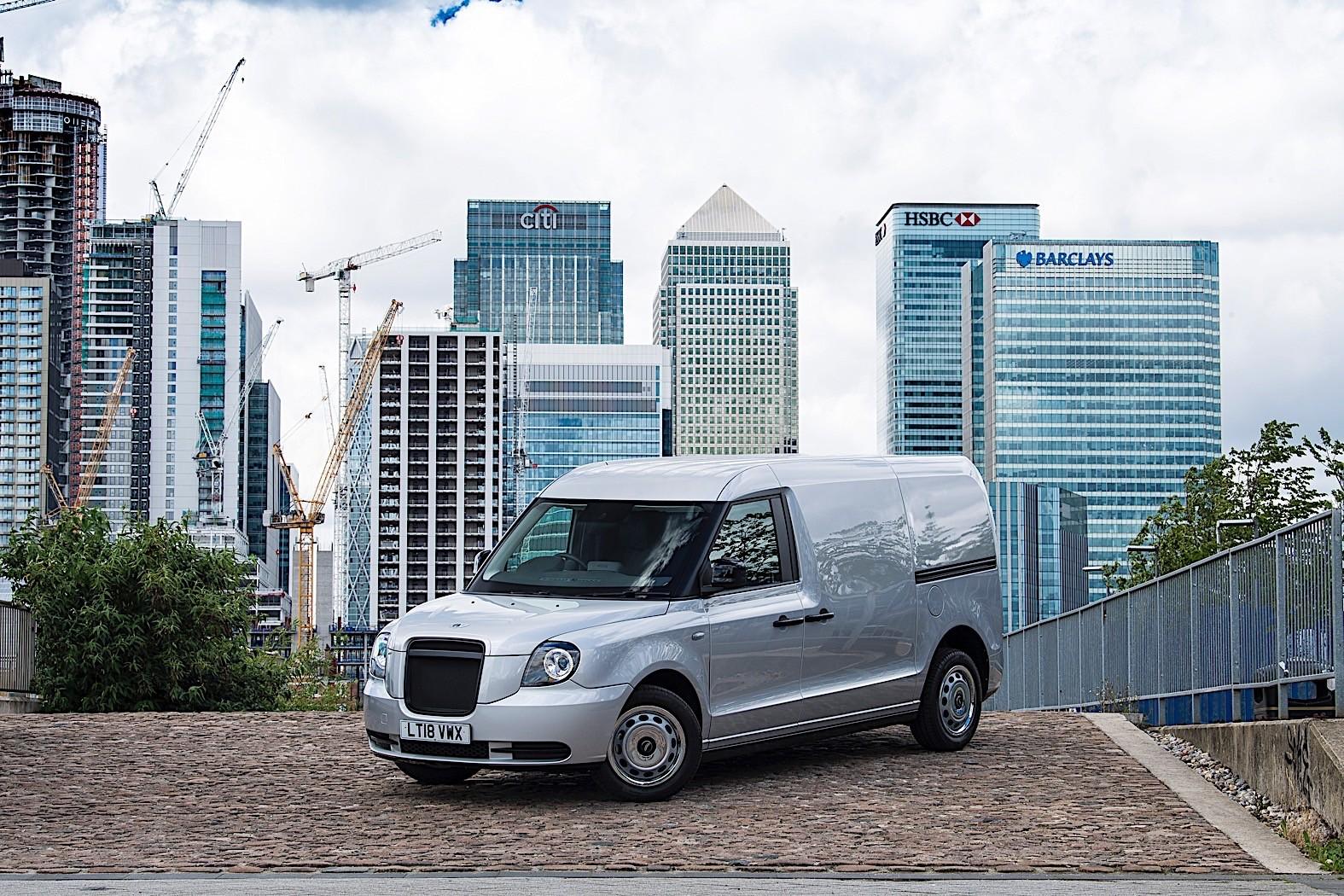 LEVC Van Unveiled as London Black Cabs Offspring - autoevolution
