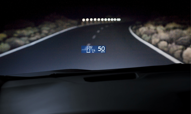 Lexus Debuts New Head Up Display Autoevolution