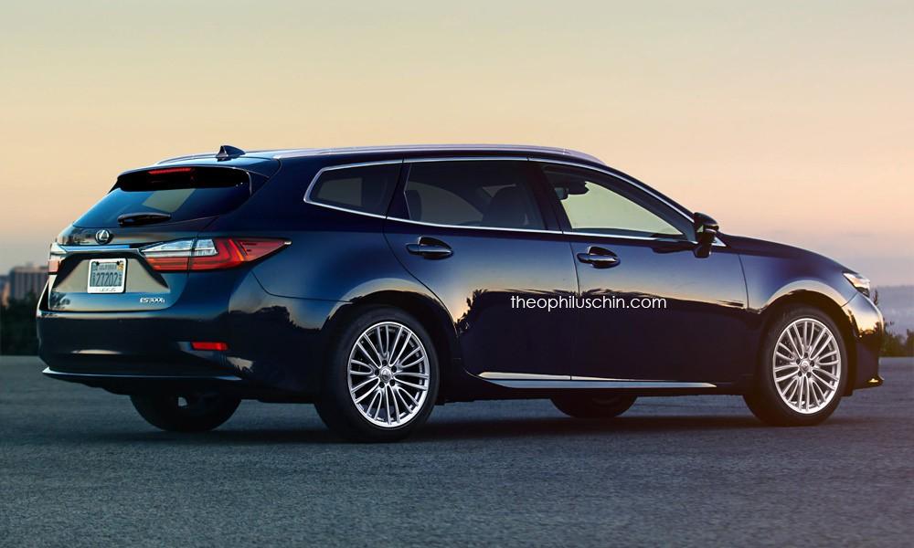 Lexus ES SportCross Wagon Rendering Will Happen When ...