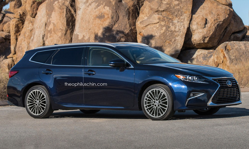 Lexus Gs Wagon >> Lexus Es Sportcross Wagon Rendering Will Happen When America Is
