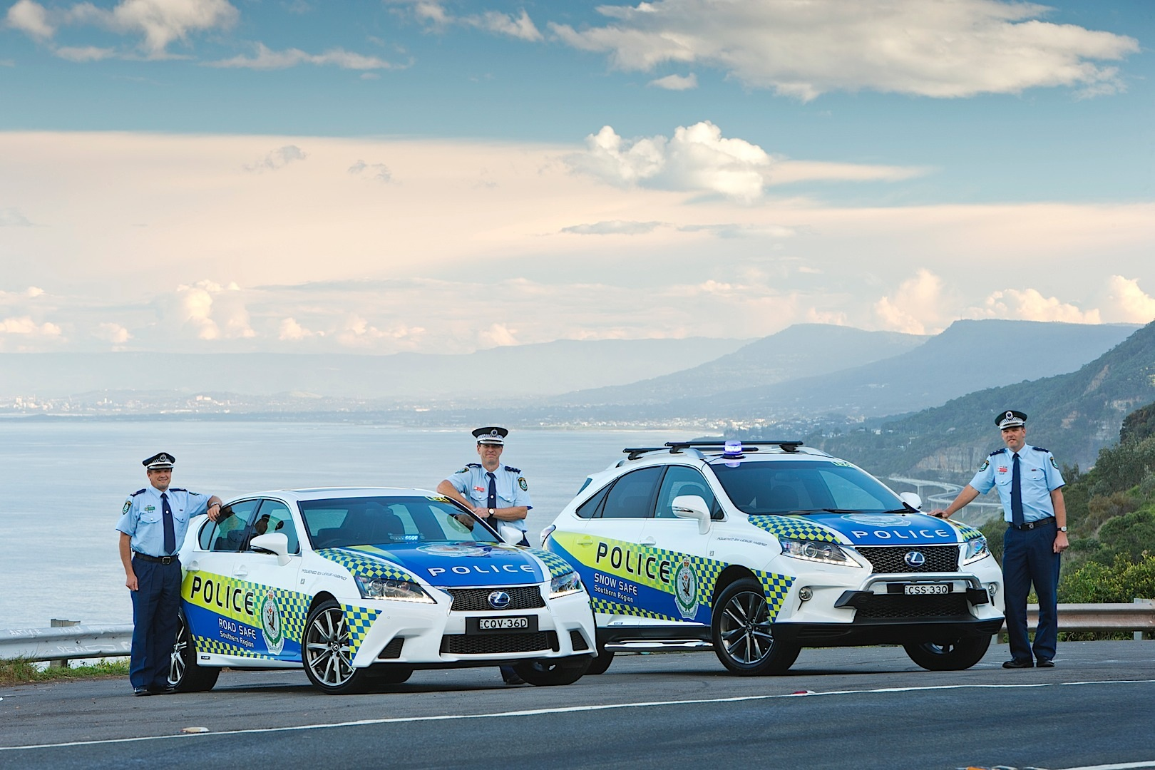 Lexus Gs And Rx Hybrids Joining Australian Police
