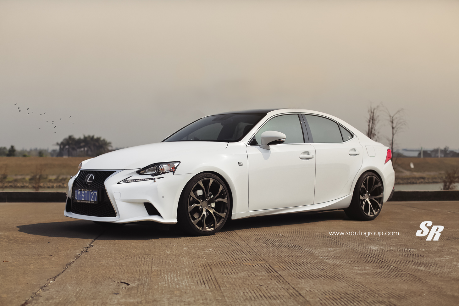 lexus is 250 f sport rocks matte bronze pur wheels. Black Bedroom Furniture Sets. Home Design Ideas