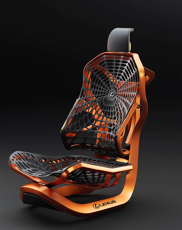 Lexus unveils seat concept prepared for 2016 paris motor show autoevolution - Paris motor show ...