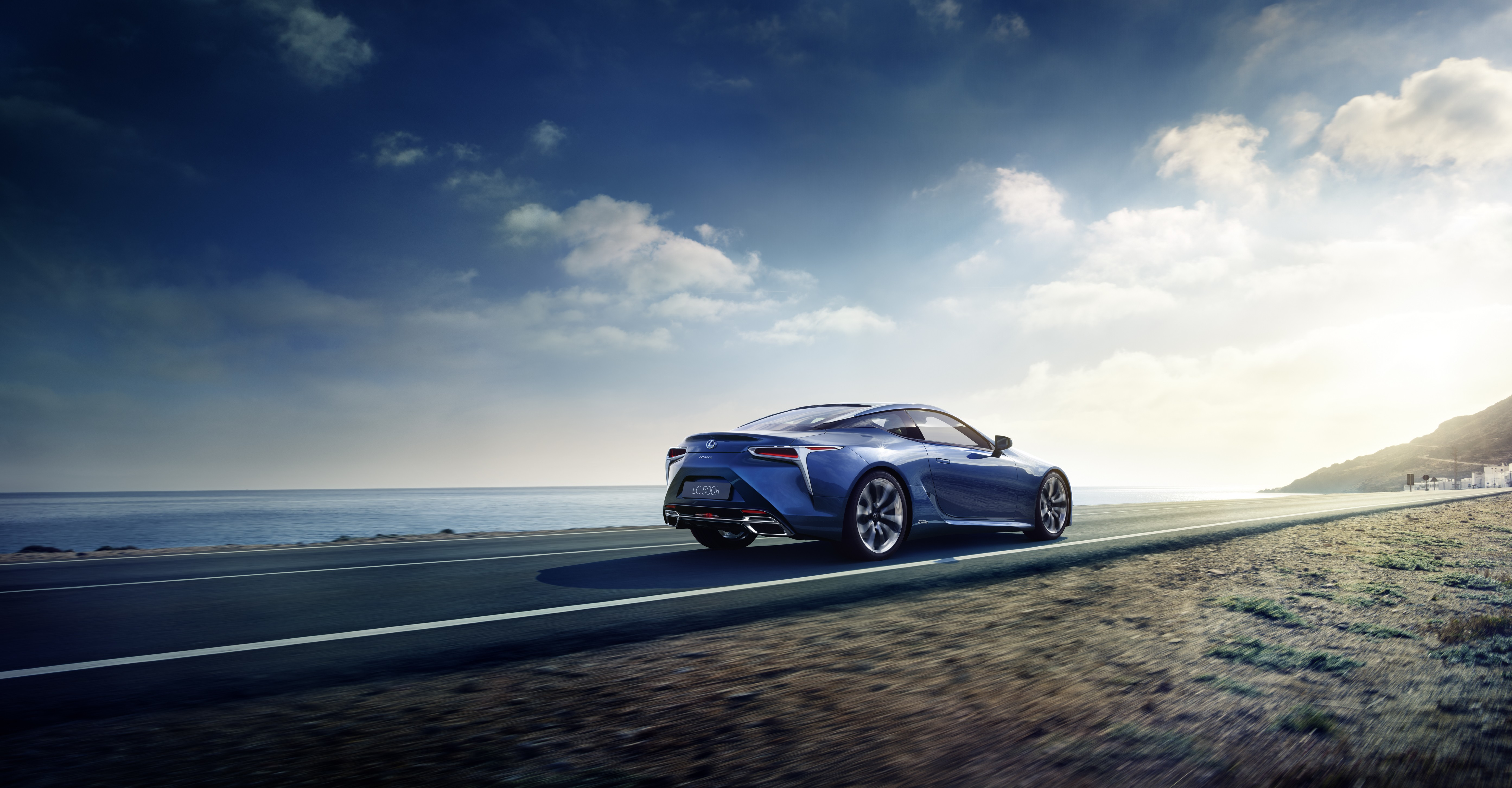 2017 lexus lc 500h unveiled will have a new multi stage hybrid system autoevolution