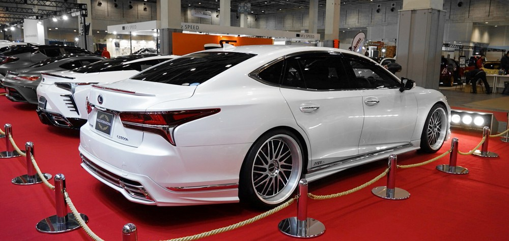 Lexus Lc And Ls Wald Tuning Projects Debut At Osaka Auto Messe 2018