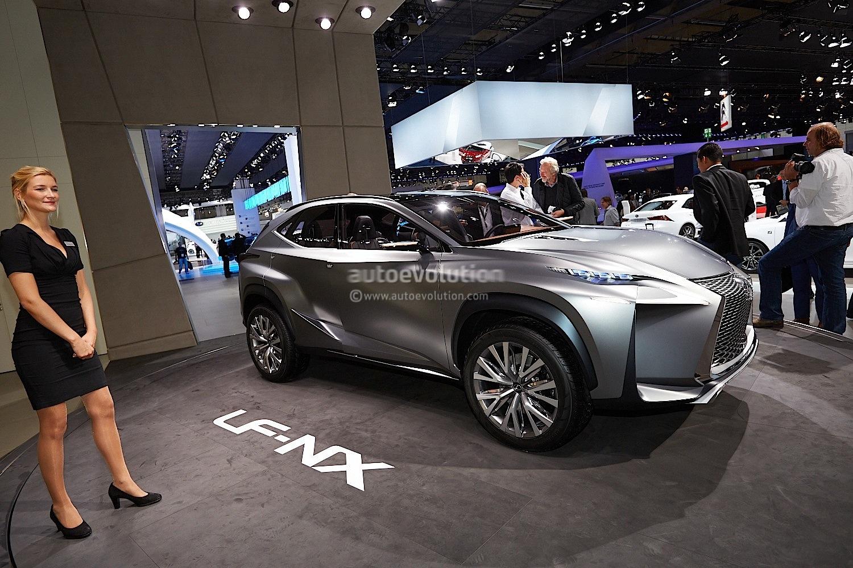 Lexus LF-NX Concept Debuts at Frankfurt 2013 \