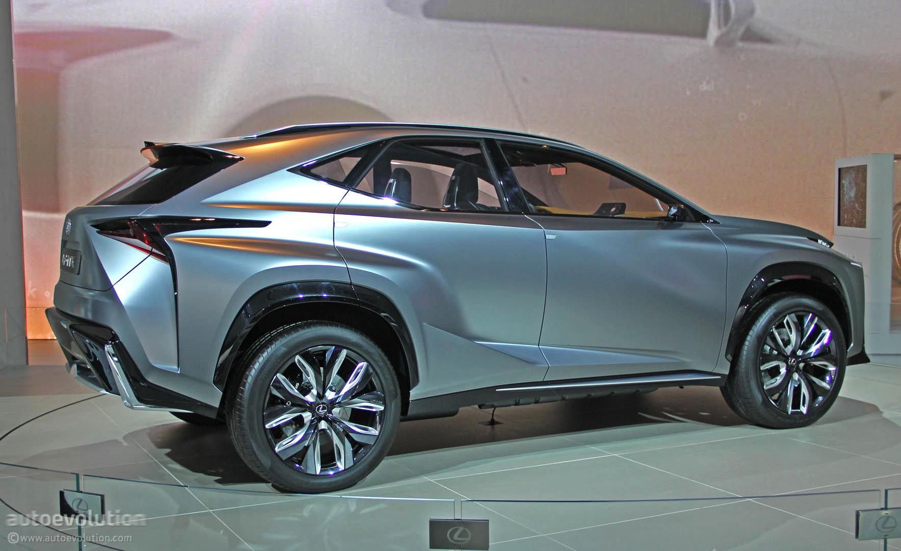 Lexus Lf Nx Turbo Concept Lands In Detroit Live Photos