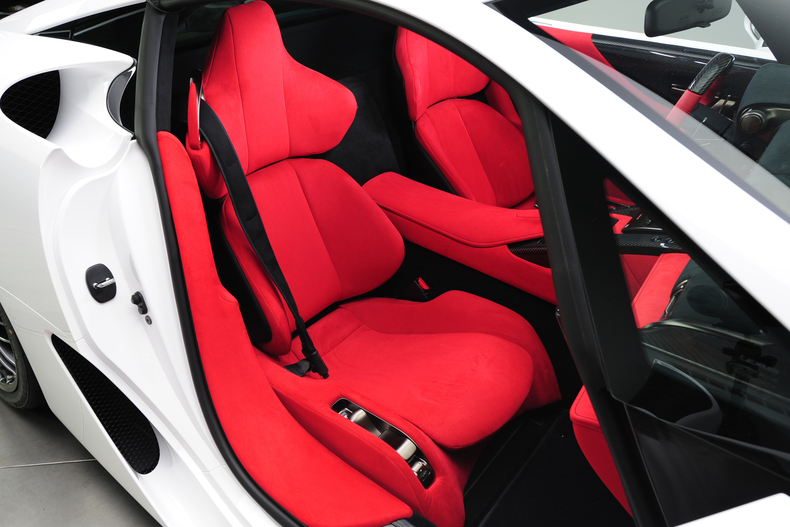 lexus lfa nurburgring edition with red interior for sale