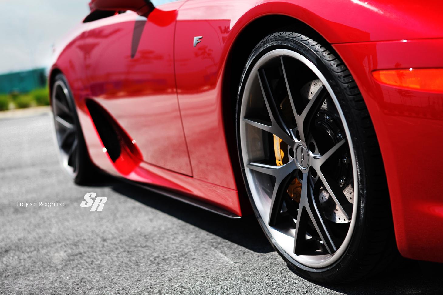 Lexus LFA on PUR Wheels - autoevolution