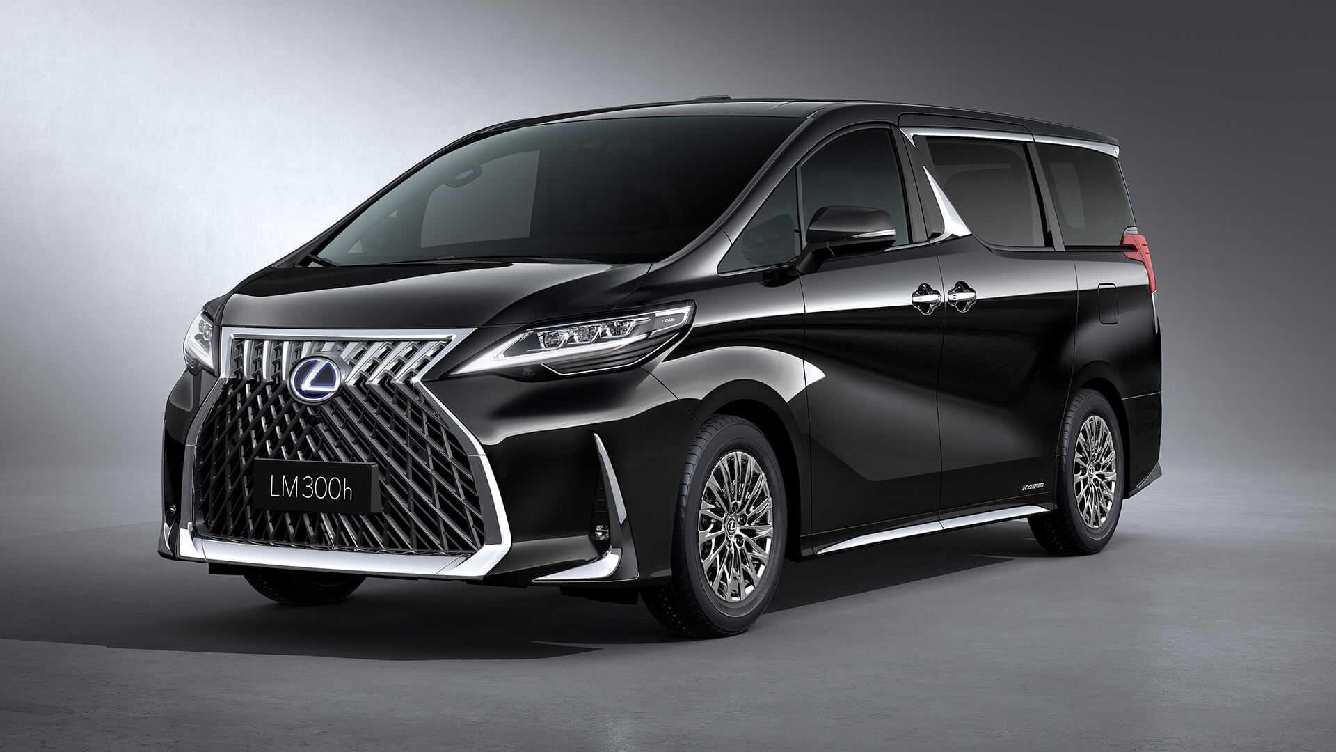Lexus Lm 300h Luxury Minivan Debuts Looks Amazing