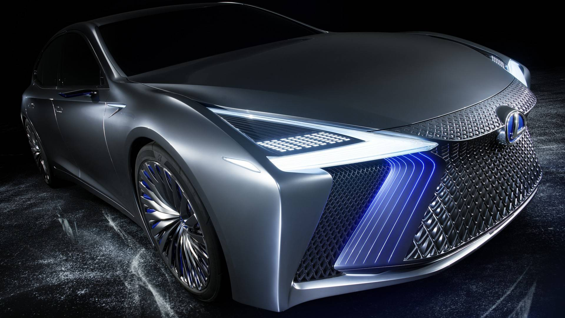 Lexus Latest Models >> Lexus LS+ Concept Isn't The Twin-Turbo V8-powered LS F We Were Expecting - autoevolution