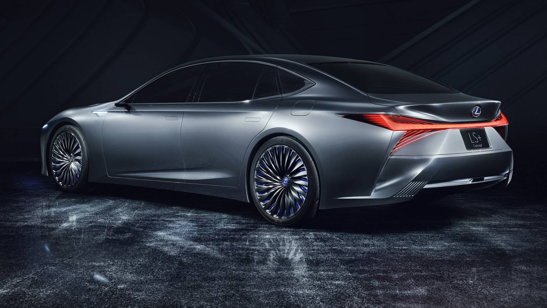 Lexus LS C Imagined as a BMW 8 Series Audi A9 petitor