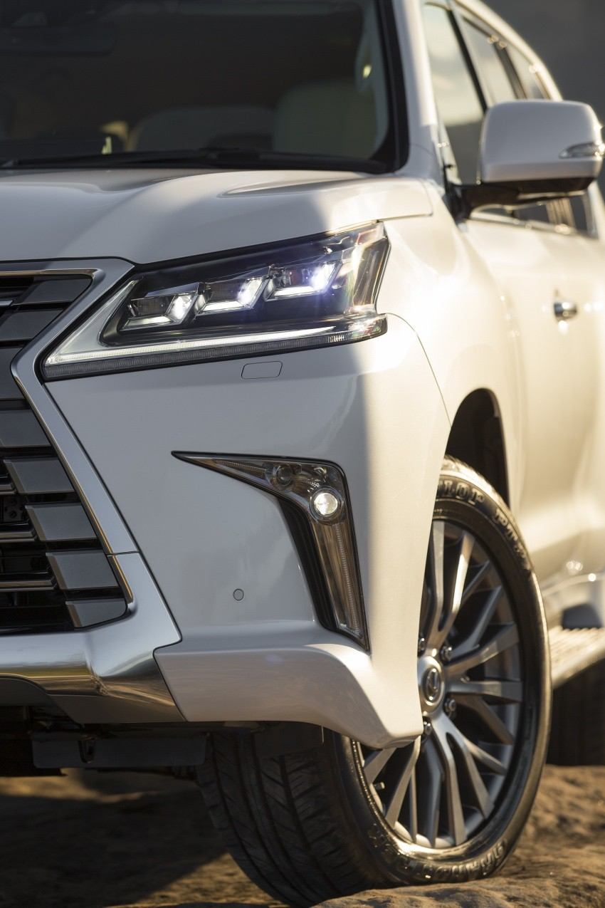 Lexus Lx 450d Large Diesel Suv Launched In Australia Autoevolution