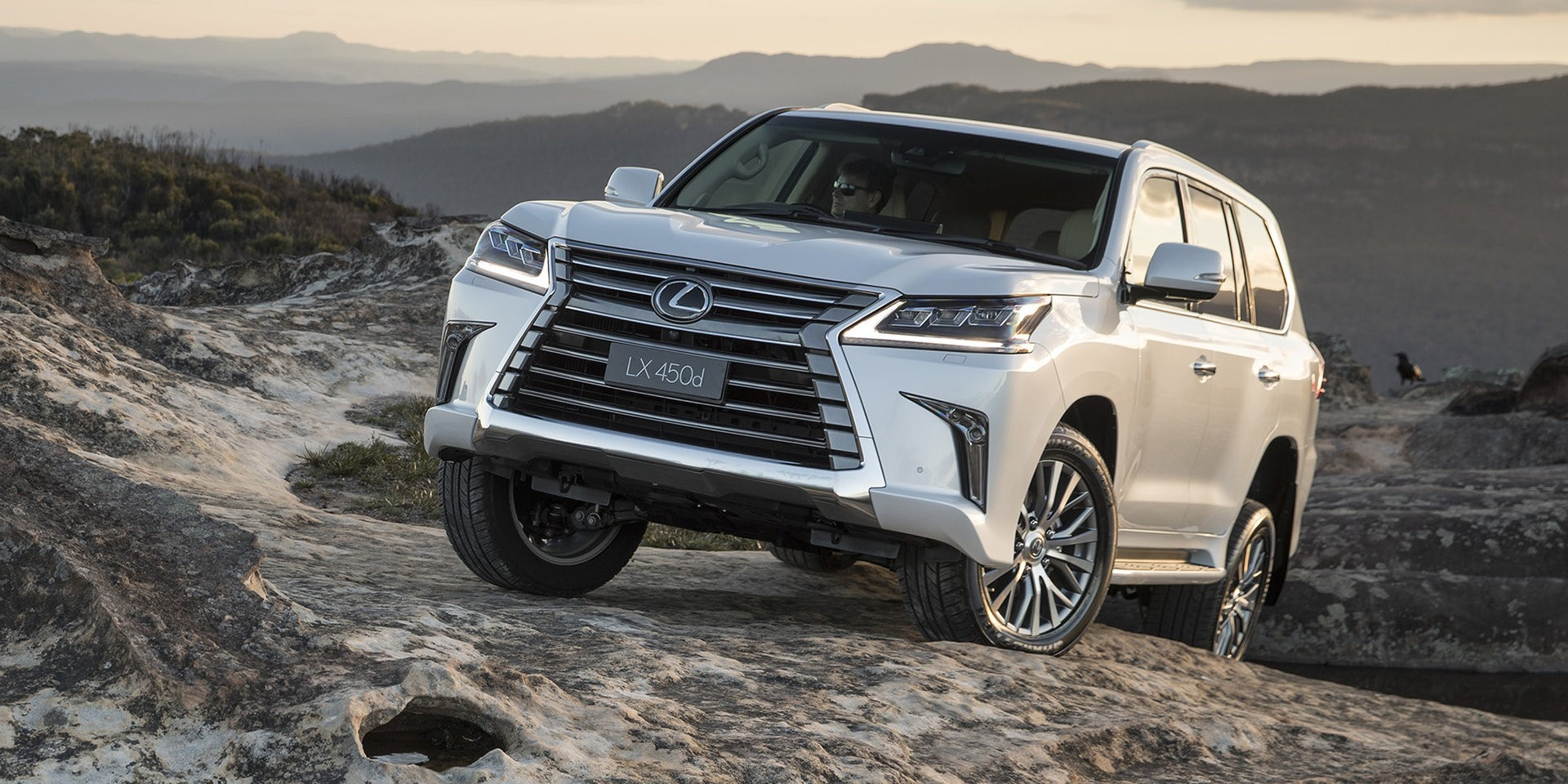 lexus lx 450d large diesel suv launched in australia autoevolution. Black Bedroom Furniture Sets. Home Design Ideas