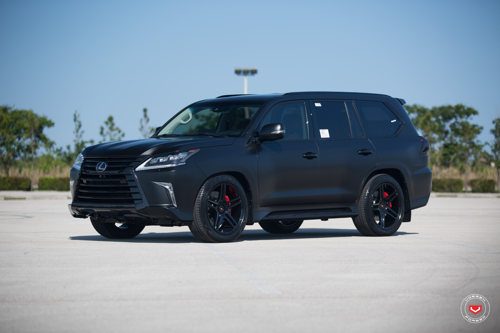 Murdered Out Cars For Sale >> Lexus LX 570 Gets Murdered Out Look and Vossen Wheels - autoevolution