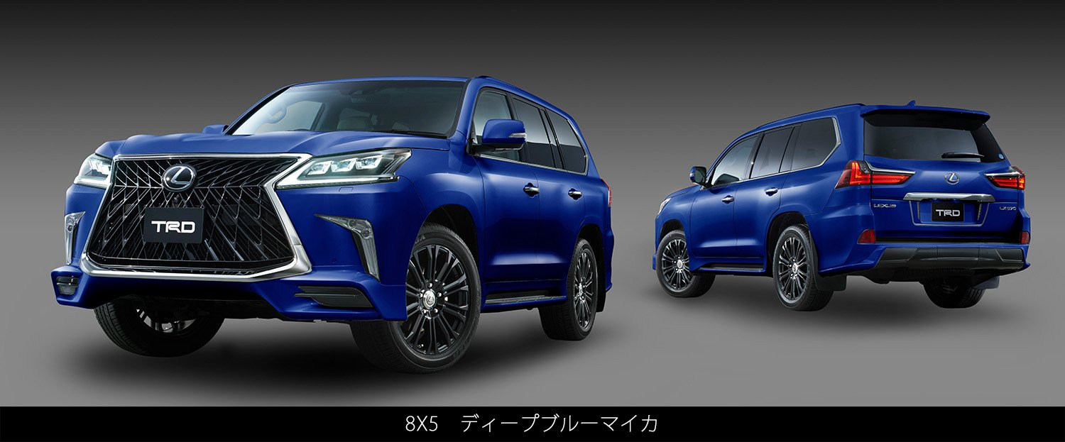 What Does Trd Stand For >> Lexus LX 570 Goes Crazy With TRD Grille and Body Kit in Japan - autoevolution