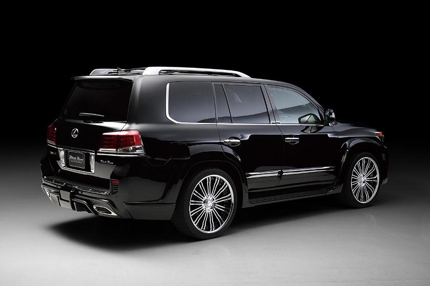 Lexus Lx Is Wald S New Black Bison Autoevolution