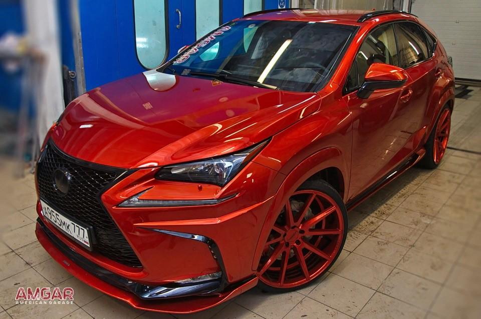 "Lexus Nx Hybrid >> Lexus NX 300h ""Phoenix"" Tuned by AMGAR American Garage - autoevolution"