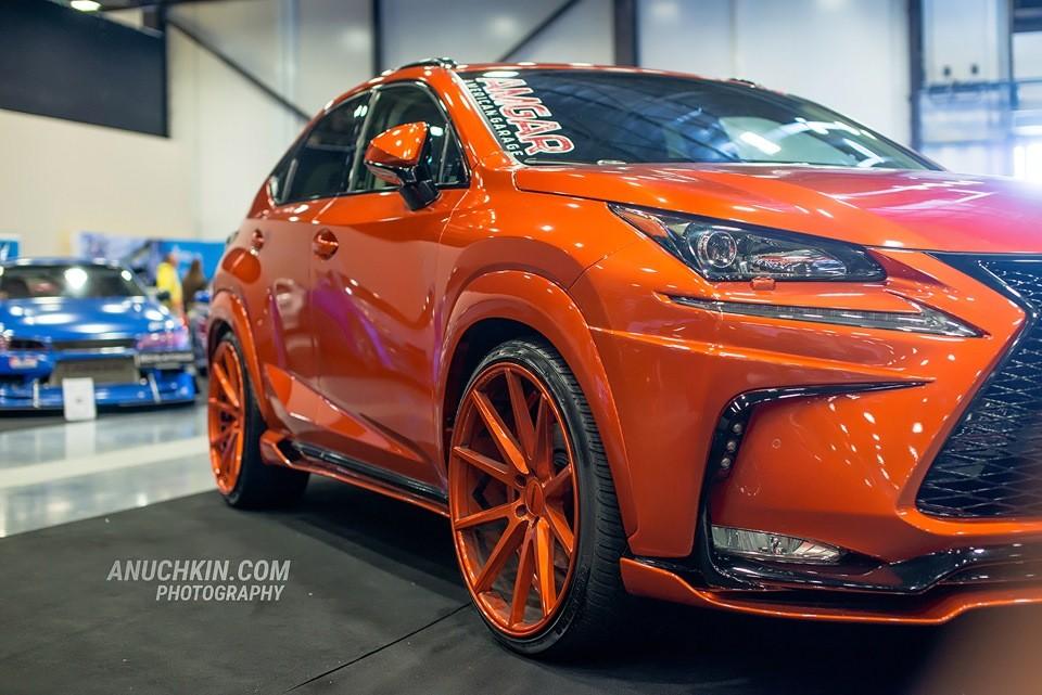 Lexus Nx 300h Quot Phoenix Quot Tuned By Amgar American Garage