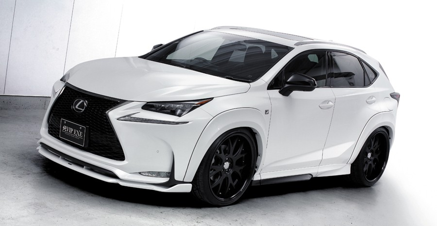 lexus nx suv gets acc air suspension and widebody kit autoevolution. Black Bedroom Furniture Sets. Home Design Ideas