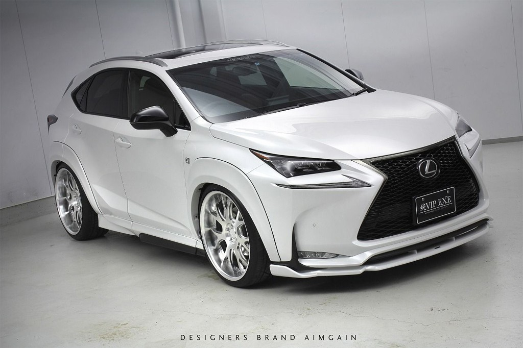 Lexus nx suv gets acc air suspension and widebody kit autoevolution