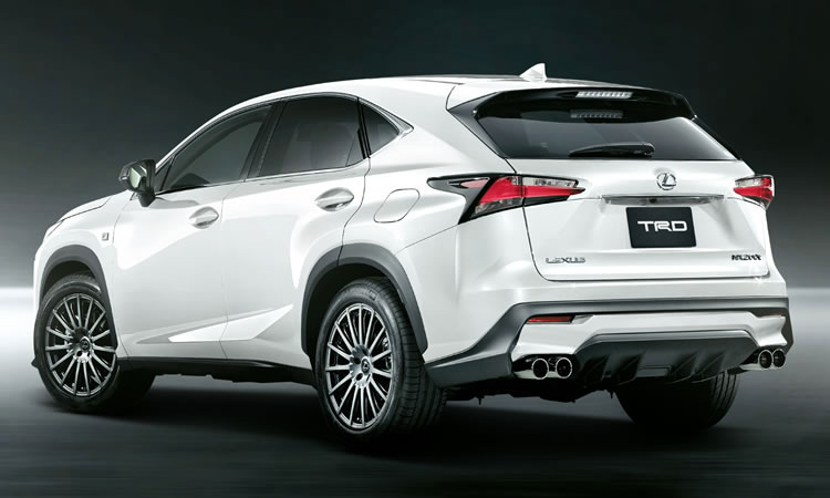 lexus nx gets launched in japan and receives trd treatment autoevolution. Black Bedroom Furniture Sets. Home Design Ideas