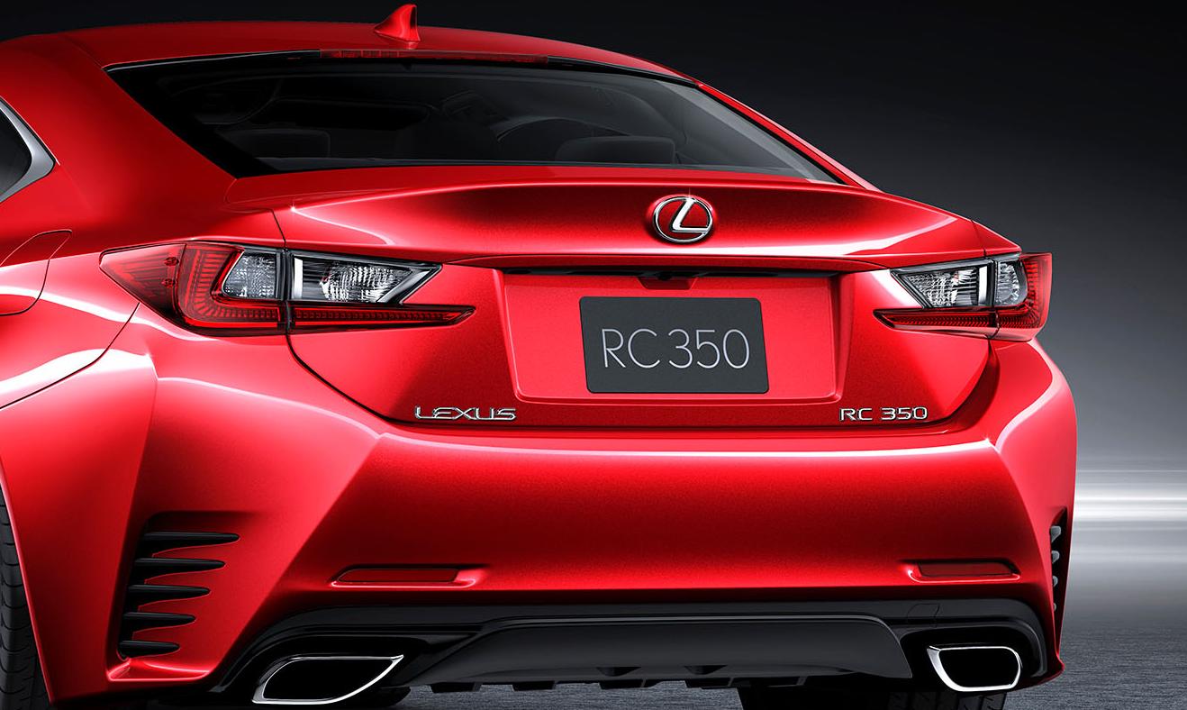 Car Paint Colors >> Lexus RC Coupe Getting New Red Paint Color - autoevolution