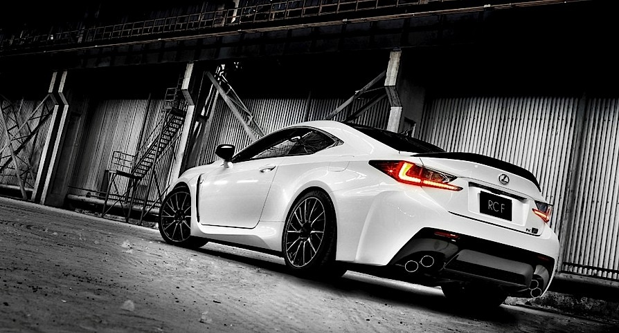 Lexus Rc F In Liquid Platinum At Goodwood Festival Of