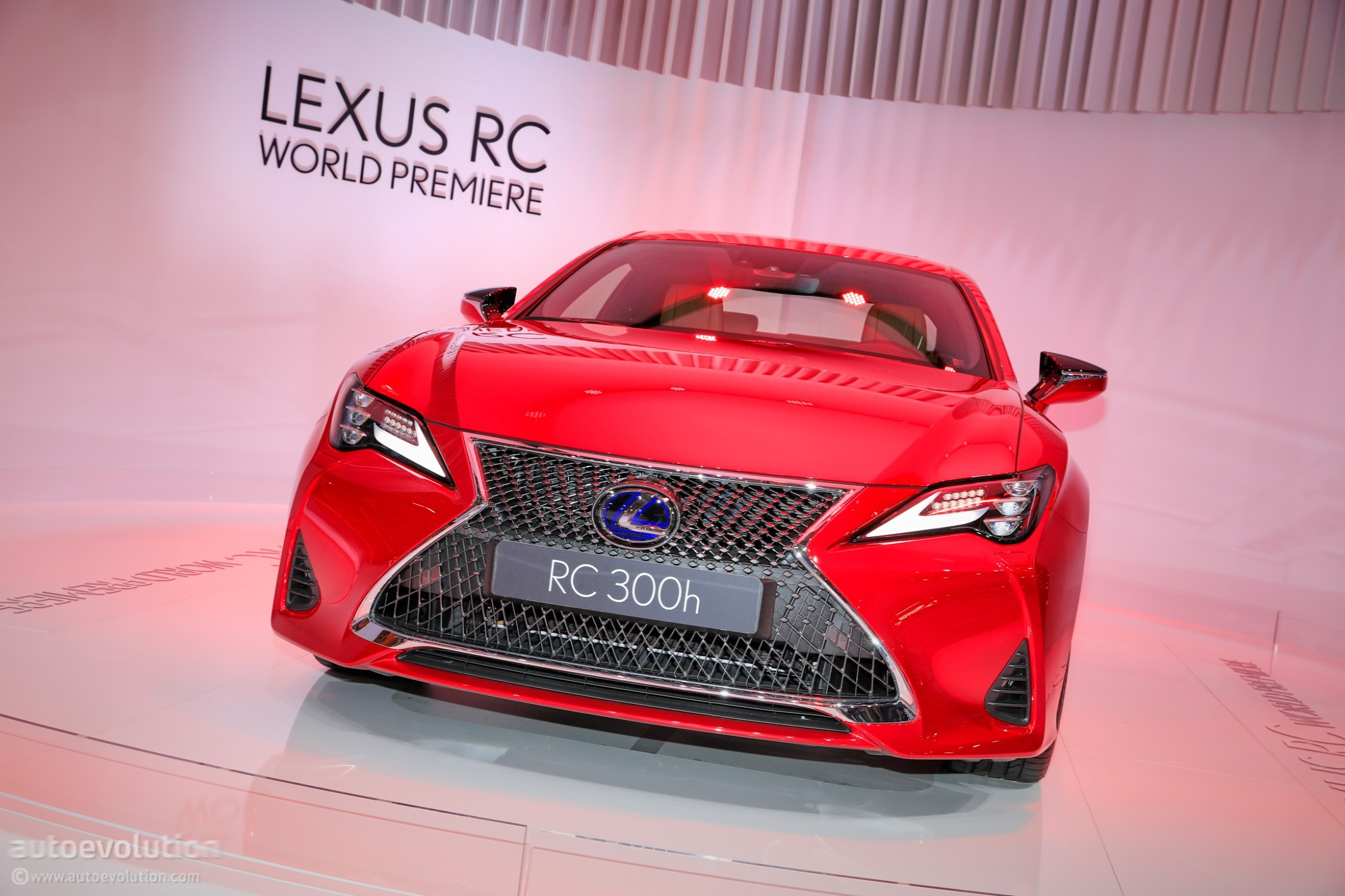 Tuned In Tokyo >> 2019 Lexus RC 300h Seems Lonely in Paris - autoevolution