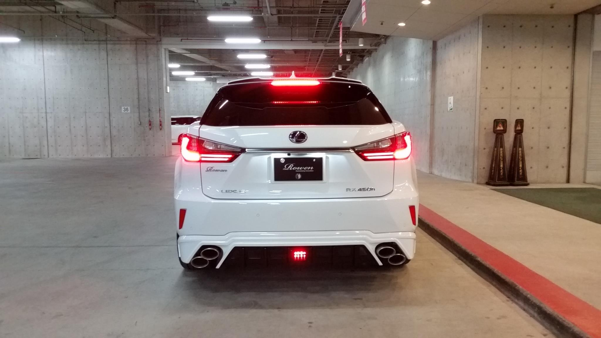 Lexus Nx F Sport >> Lexus RX F-Sport With Rowen Body Kit Has Quad Exhaust - autoevolution