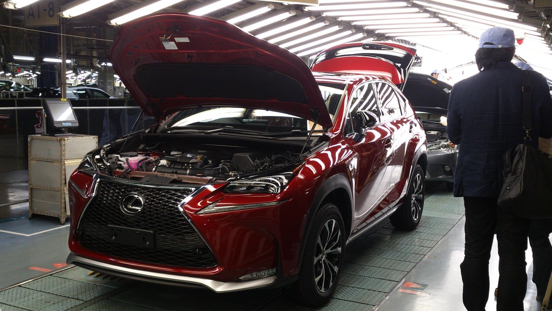 Lexus Starts NX Production in Japan, Revives Kanda Factory ...