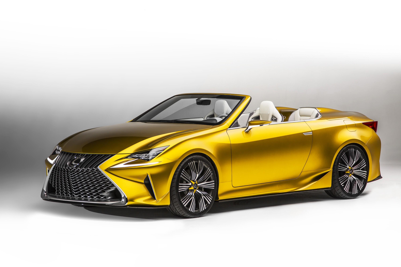 Lexus Rc Convertible Still Under Consideration Autoevolution