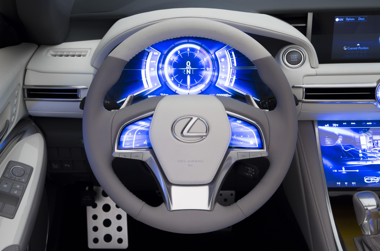 lexus rc convertible still under consideration - autoevolution