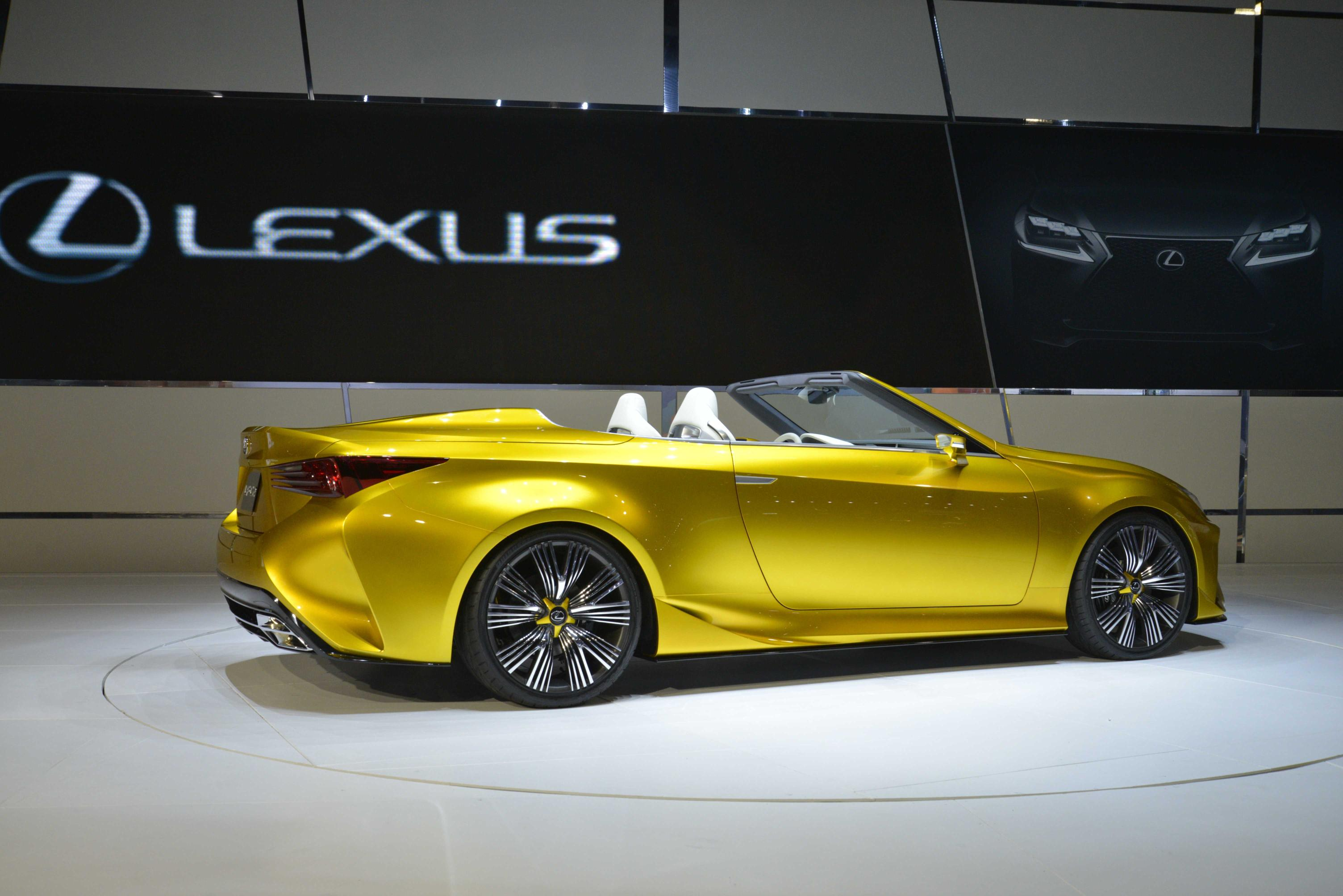 the news are  ing from a person familiar with lexus planning